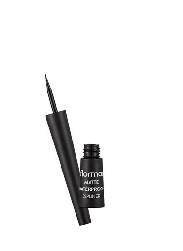 Flormar Flormar Dipliner Matte Waterproof Siyah Renkli